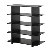 Black Shop Shelving