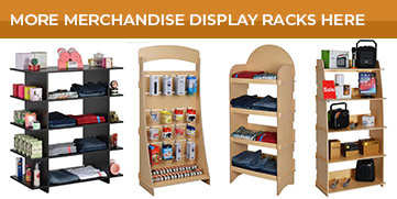 Check out more merchandise racks