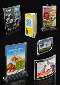 Premium Counter Top Signs