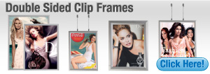 Double Sided Clip Frames
