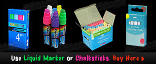 See More Liquid Markers and Chalks