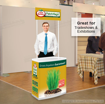 Tradeshow Counters for Use at Exhibitions!