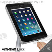 ipad holder lock