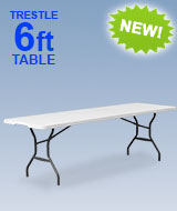 Folding Trestle Table
