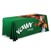 3 Sided Custom Table Covers