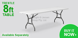 8ft Trestle Tables Available Soon