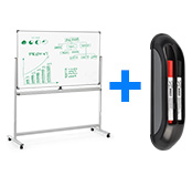 Mobile Whiteboards w/ Marker Kit