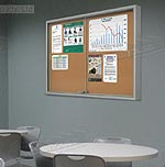 Enclosed Chalkboard Display