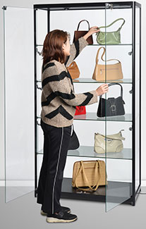 Glass Showcase Cabinet