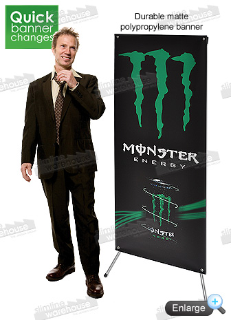 portable display banner