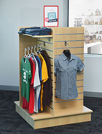 Slatwall Display Racks