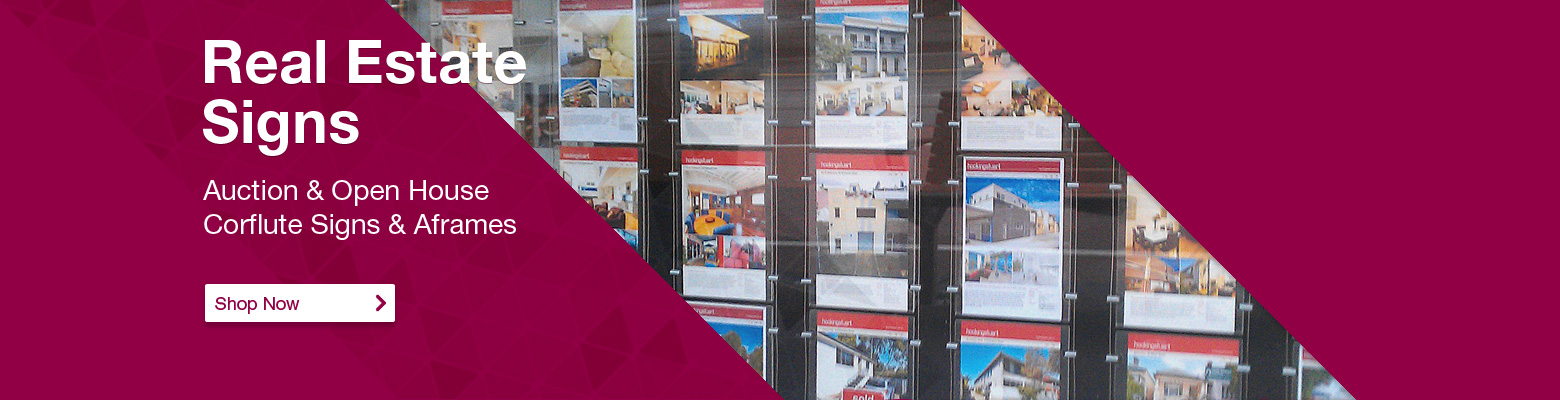 Real Estate Displays