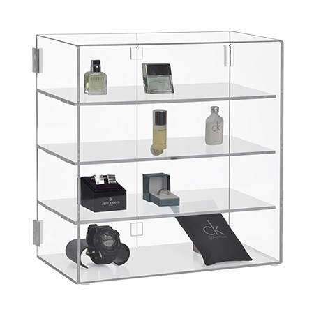 Acrylic Lockable Display Cabinet