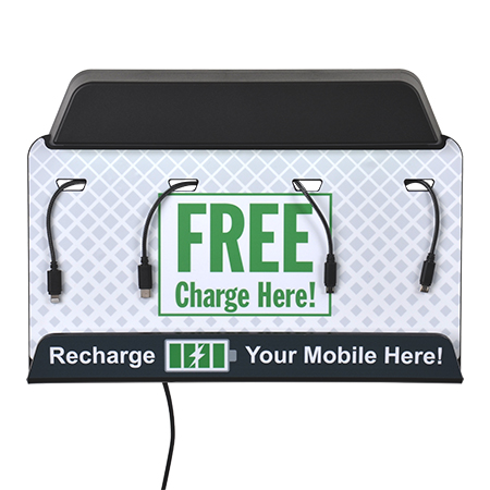 Wall Mounted Mobile Charging Stations