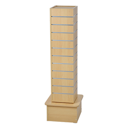 Slatwall Display Tower